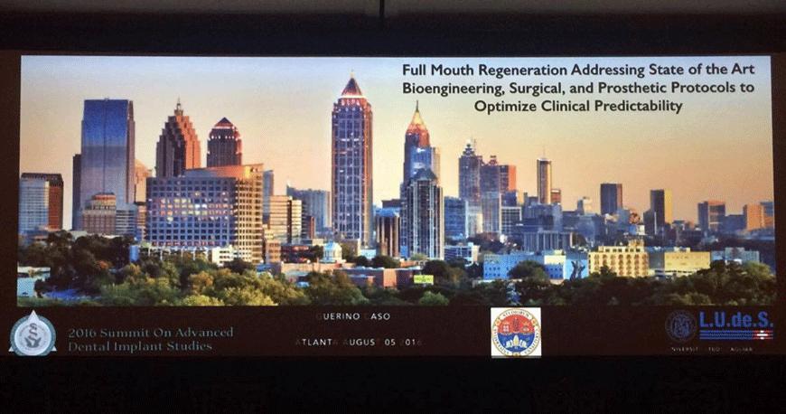 Prof.Caso al Congresso di Atlanta